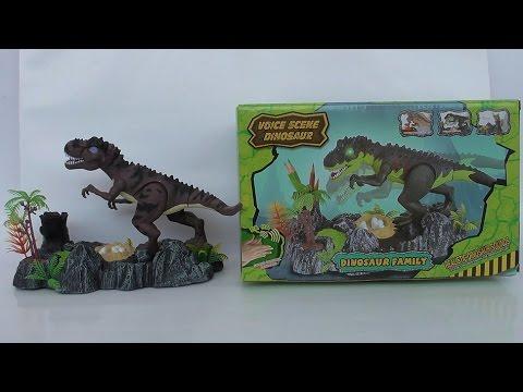 Dinosaur Family ของเล่นไดโนเสาร์ตั้งโต๊ะ