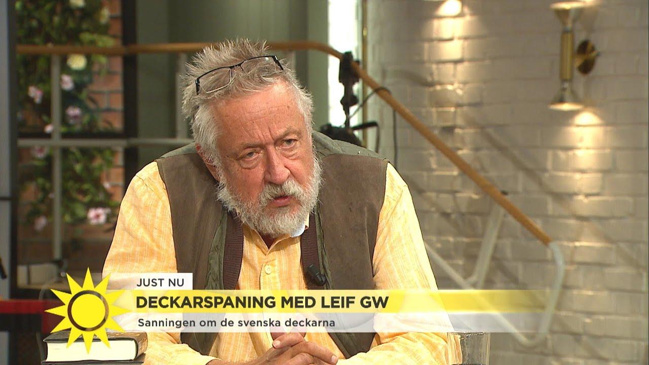 Hör GW:s diss mot Läckberg  - Nyhetsmorgon (TV4)