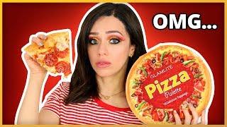 ME MAQUILLO CON UNA PIZZA! 🍕VAYA SORPRESA!!!!