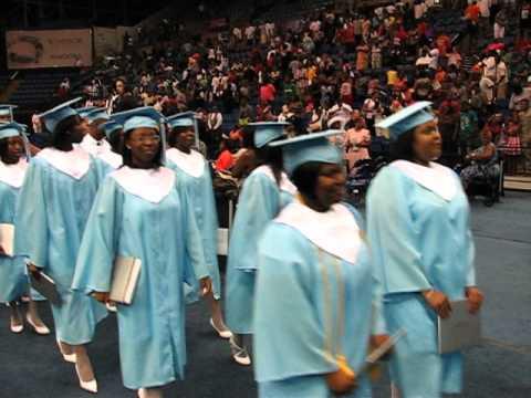 Glenn Hills High School graduation
