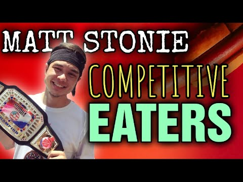 Matt Stonie    FAKE Eaters Vs. COMPETITIVE Eaters!!!