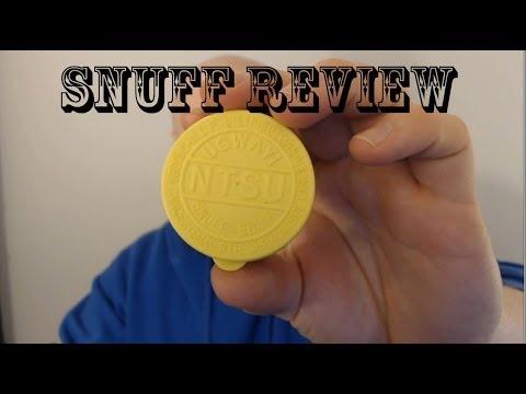 NTSU Black - Nasal Snuff Review