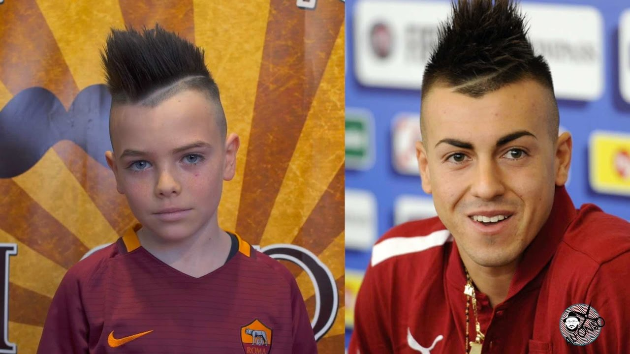 Stephan El Shaarawy HAIRSTYLE   Alfonso Rossi   American crew - Stephan El Shaarawy HAIRSTYLE Alfonso Rossi American Crew