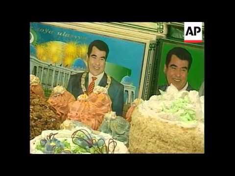 TURKMENISTAN: PRESIDENT NIYAZOV PERSONALITY CULT