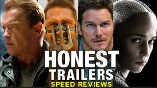 HONEST TRAILERS Summer Movies in 90 Seconds! (SPEED REVIEWS)