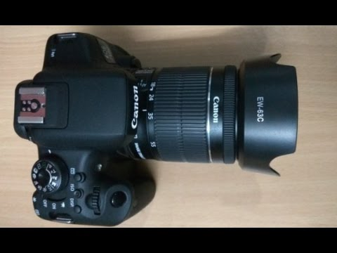 Canon EOS 750D, EOS REBEL T6i  Unboxing and Review HINDI, TECHNICAL ASTHA