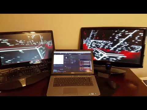 Arkaos GrandVJ XT 2 Tutorial -  Multiple Monitors in Instant Mode
