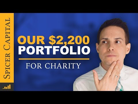 $2200 Investment Portfolio for Charity 📊 September Update