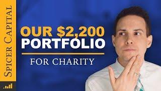 $2200 Investment Portfolio for Charity 📊 September Update