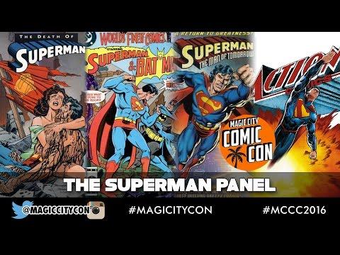 The Superman Panel at Magic City Comic Con Jan 2016