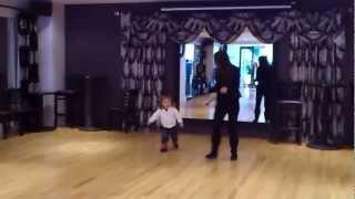 Бальные танцы, первый урок.(1)