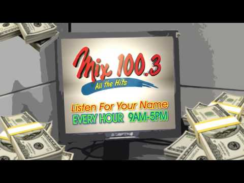 Mix 100.3 Cash Contest