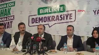Şanlıurfa'da HDP adayları, Saadet Partisi adayları lehine seçimlerden çekildi