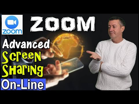 Advanced Zoom- How Screen share works when teaching online  #teachonline #teachwithzoom