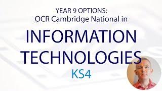 INFORMATION TECHNOLOGIES KS4