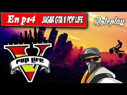 gta v roleplay ps4 como jugar