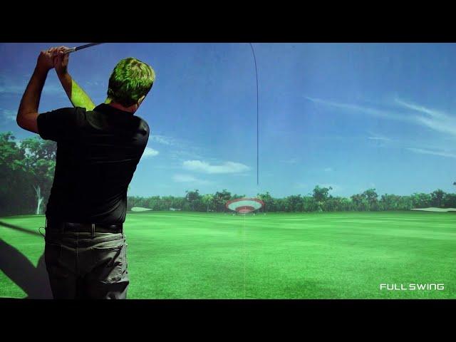 Full Swing Pro Series Simulator Demonstration