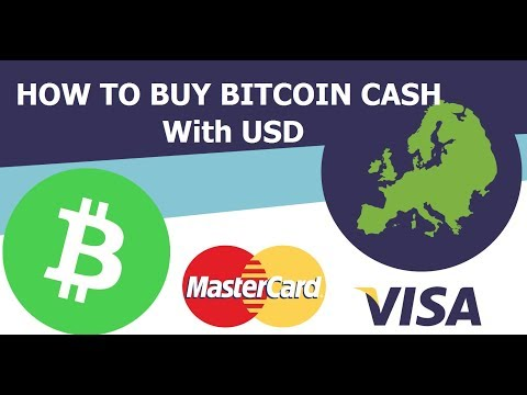 How To Buy Bitcoin Cash With USD