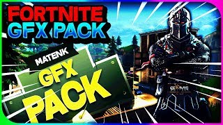 THE BEST GFX PACK FORTNITE!! (November 2018)