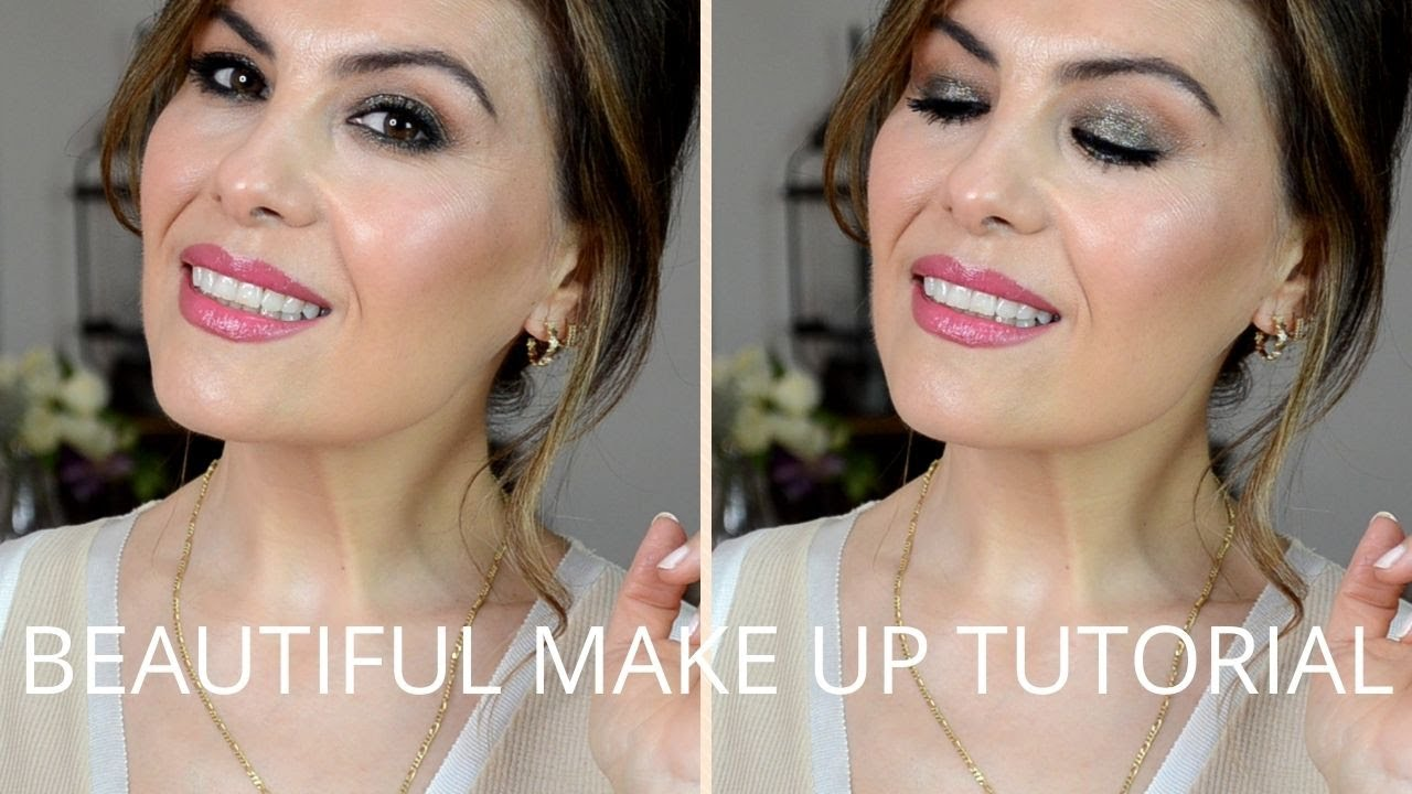 Fall glam make up tutorial
