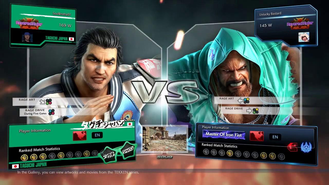 Tekken 7 Lei vs Marduk Ranked Match