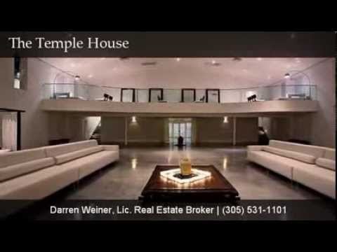 Celebrity Homes - Miami South Beach The Temple House - Celebrity Real Estate in Miami South Beach