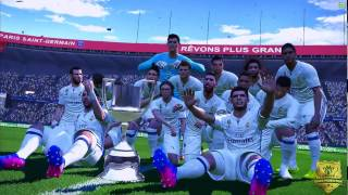 "Video PES 2017 League/Cup Final Song ""Hala Madrid y Nada Mas"" download MP3, 3GP, MP4, WEBM, AVI, FLV April 2018"