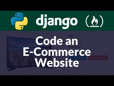 django ecommerce website tutorial