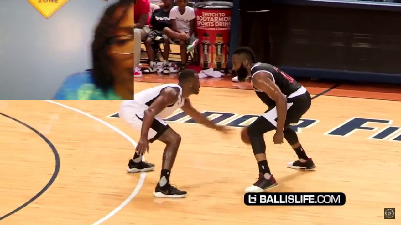 209744f432bf THE WERE GOING TO WAR!!! James Harden+CP3 VS John Wall! JH-Town ...