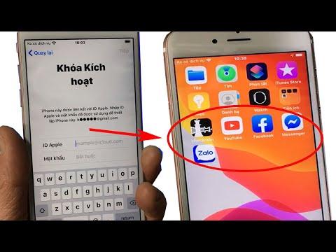 cách hack active iphone 5 bị dính icloud - Bypass icloud, phá tài khoản icloud của Iphone để dùng vào mạng