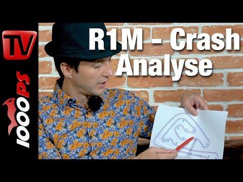Warum gestürzt? Sturzanalyse von NastyNils zum Yamaha R1M Motorradcrash