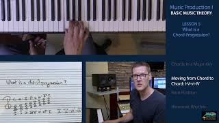 BASIC MUSIC THEORY 5 - Chord Progressions