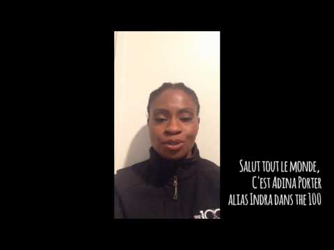 Adina Porter's announcement in Luxembourg