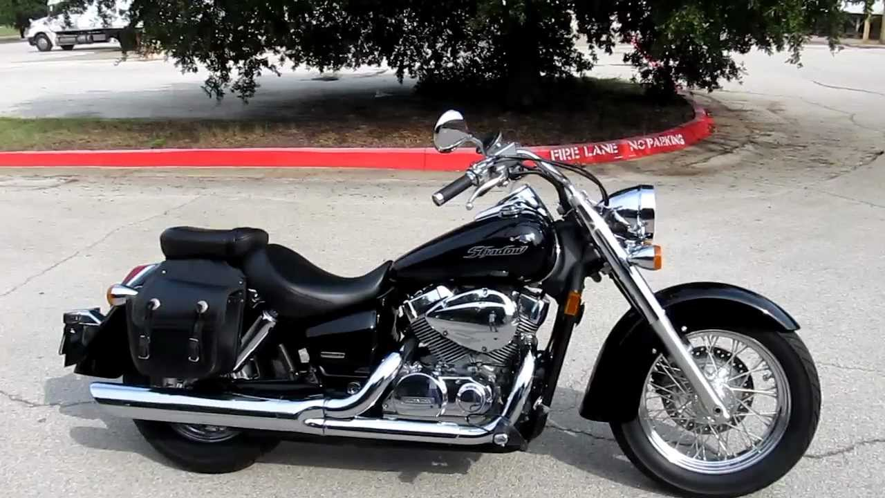 2007 honda 750 shadow aero for sale youtube. Black Bedroom Furniture Sets. Home Design Ideas