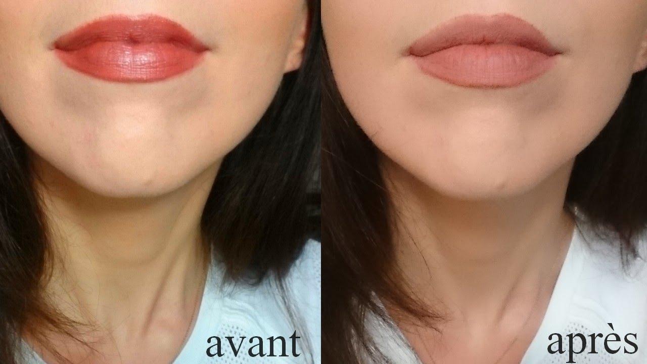 Fabuleux Transformer un rouge à lèvres brillant en rouge à lèvres MAT - YouTube JU25