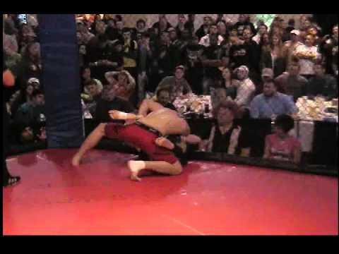Hardrock MMA 43 Fight 9 Brandon Hurst vs Jacob Byrd Round 2