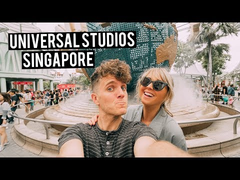 Universal Studios Singapore | 24 Hour Layover In Asia
