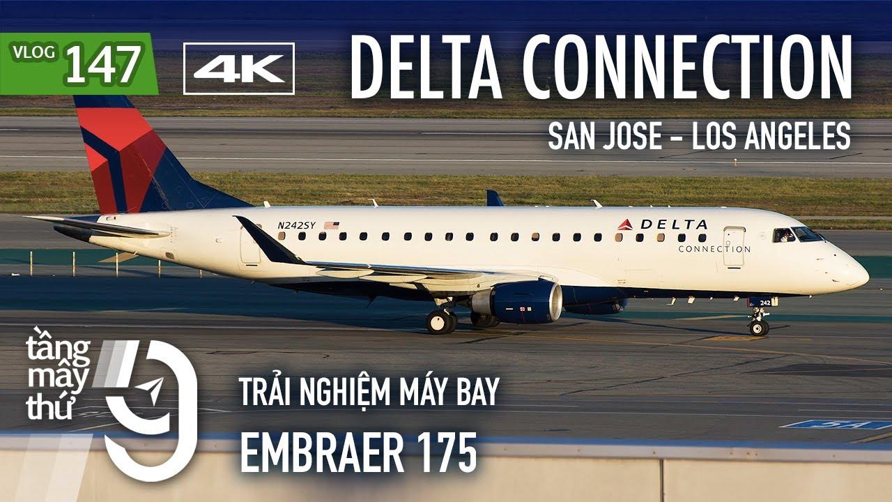 [M9] #147: Bị delay gần 4 tiếng & suýt bị từ chối lên máy bay ở Mỹ   Delta Connection   Yêu Máy Bay