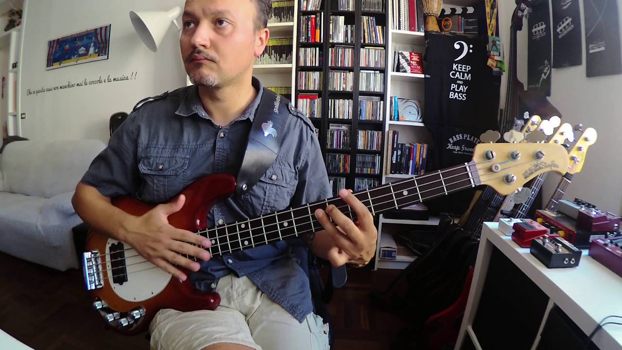 Peter Gabriel - Steam - Secret World Live - Tony Levin Bass Intro