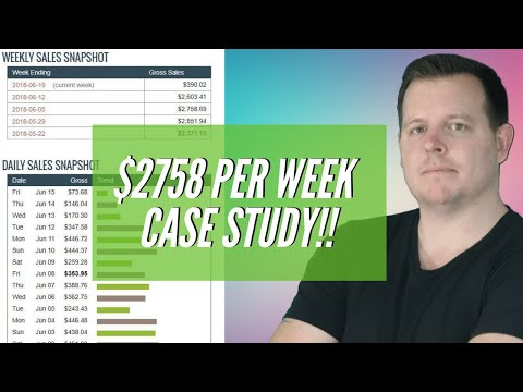 $2200+ PER WEEK – Clickbank Affiliate Marketing Case Study (Passive Income)