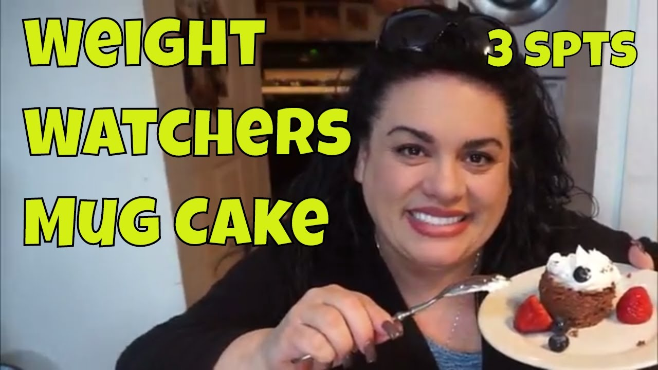 Weight Watchers MUG CAKE 3 Pts Recipe