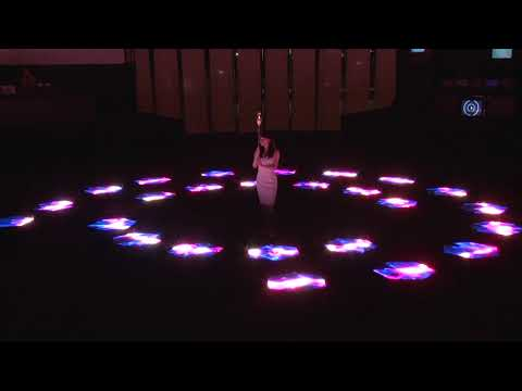 Ars Electronica Futurelab Presents Swarm Arena Collaborating With NTT Feat. Akiko Nakayama + Ei Wada