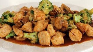 Chicken Broccoli And Mushroom Stirfry   Sanjeev Kapoor Khazana