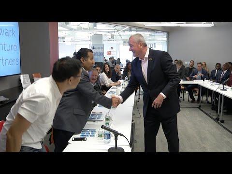 Murphy Talks Tech With Startups In Newark, Touting Innovation Economy