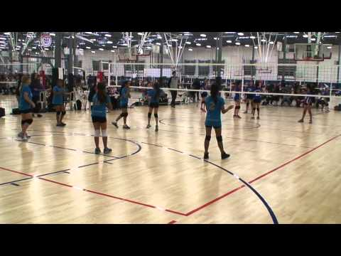 Offshore Volleyball 12-2 vs Lila Lions 12's (Match 1) 2/2/15