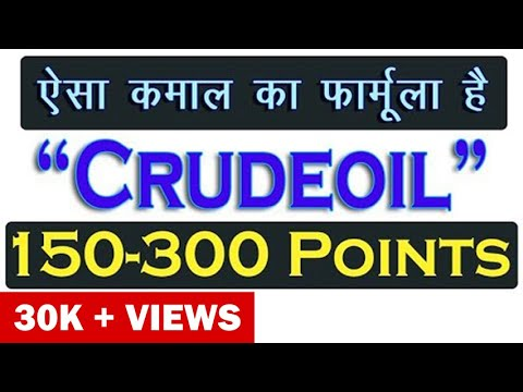 99% Profit Crude oil Positional Trading strategy (in Hindi) – Sharmastocks.com