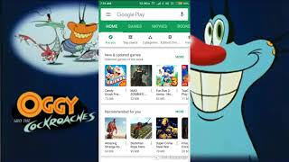 How to download oggy high graphics game in android my favourite game