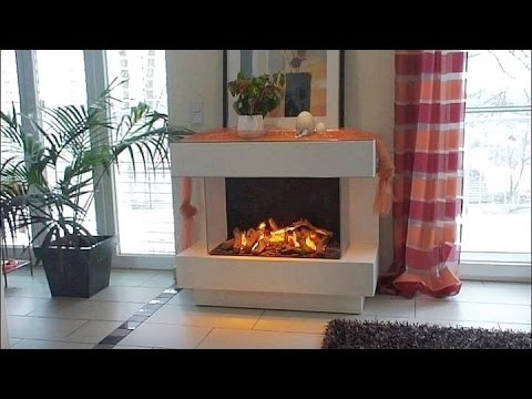 elektrokamin concept 4 l mit wasserdampf 3d feuer youtube. Black Bedroom Furniture Sets. Home Design Ideas