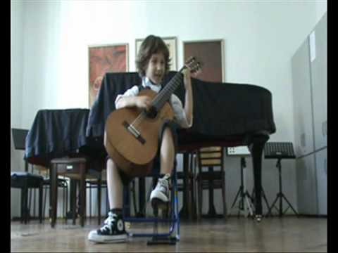 Frano Zivkovic (5 y.o) - Greensleeves