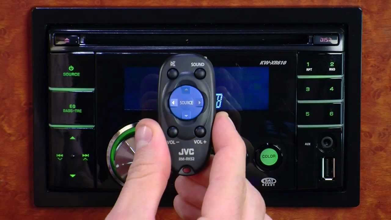 hight resolution of jvc kw xr610 usb cd receiver youtubejvc kw xr610 usb cd receiver